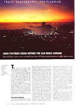 RPS Journal article about travel photography. 16kb